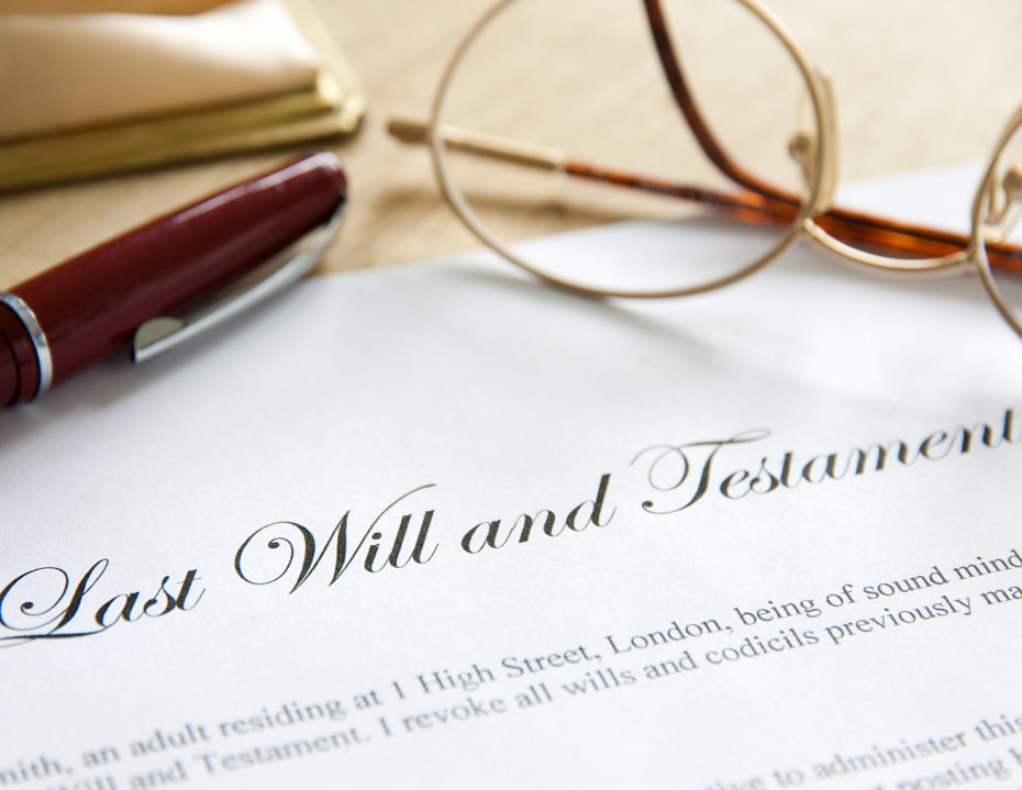 Last Will and Testament 2